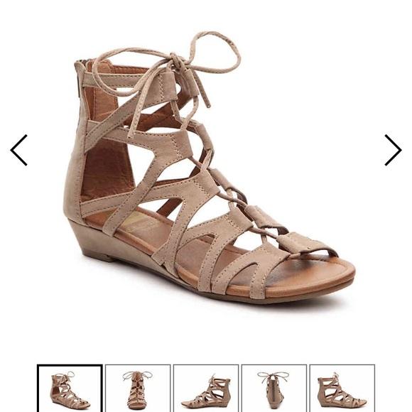 1446157ce2f Crown Vintage Shoes - CROWN VINTAGE SARAH WEDGE GLADIATOR SANDAL